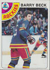 1978 - 1979 Topps Barry Beck #121 Hockey Card