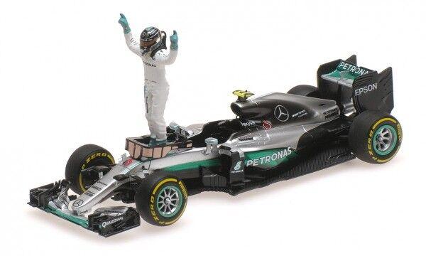 Mercedes AMG F1 Team W07 Hybrid No.6 Abu Dhabi GP - Formula 1 World Champion 201  | Spezielle Funktion