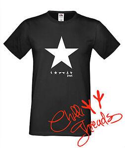 Étoile Noire David Bowie Rock Musique Pop T-Shirt