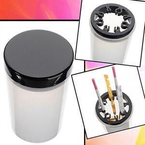 Nail-art-Pinselreiniger-Halter-UV-Acryl-Gel-Stift-Topf-Cleanser-Tasse-Flasche-Tb