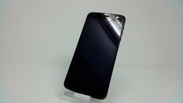 Motorola Moto Z2 Force XT1789-04, AT&T, 64GB, Black, Bad Battry