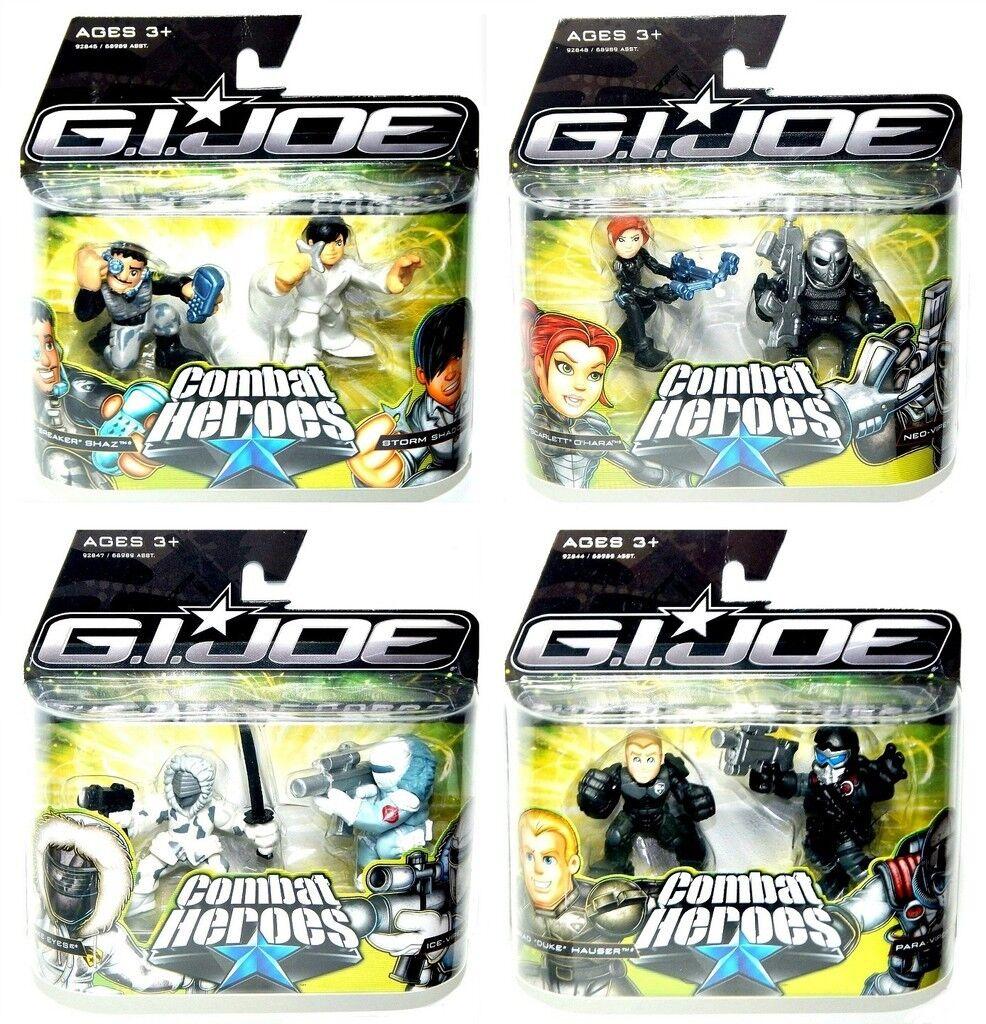 GI Joe Rise of Cobra Combat Heroes Wave 2 Complete Set of 8 Ice Viper Breaker