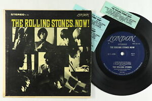 Jukebox Hard Cover EP - Rolling Stones - The Rolling Stones Now - London SBG 34