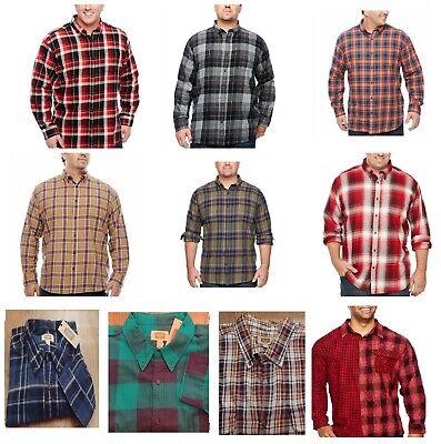Foundry Men/'s Shirt LS Button Front LT XLT 2XL 2XLT 3XL 3XLT 4XL 4XLT 5XL New