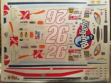 Jimmy Spencer K-mart Blue Light.com Ford Taurus Decals 1/24 Scale Slixx