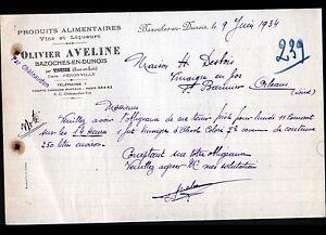 BAZOCHES-en-DUNOIS-28-EPICERIE-amp-VINS-en-gros-034-Olivier-AVELINE-034-en-1934
