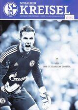 Schalker Kreisel + 25.02.2016 + FC Schalke 04 vs. Shakhtar Donetsk + Programm +