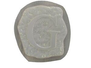 Alphabet Letter G Stepping Stone En Plâtre Ou En Béton Moule 1225 Moldcreations-afficher Le Titre D'origine Les Clients D'Abord