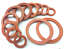 DORL/_A Select Size ID 180mm-200mm VMQ Silicone O-Ring Gaskets Washer 3mm Thick