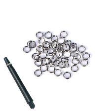 Professional Dart Flight Punch+50pcs Dart/'s Shaft Metal Ring Darts Accessori CWI