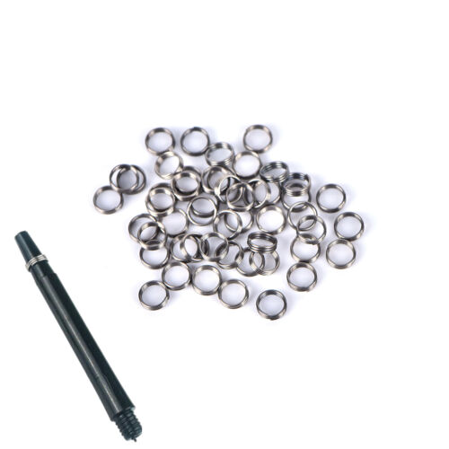 50X of Guard Circle for Plastic Dart Shafts Nylon Rod Stem Protection&O-ring
