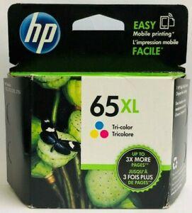 New Genuine HP 65XL Color Ink Cartridge Deskjet 2622 2624 ...