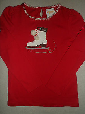 NWT Gymboree Girls Winter Cheer Ice Skate Top Size 5