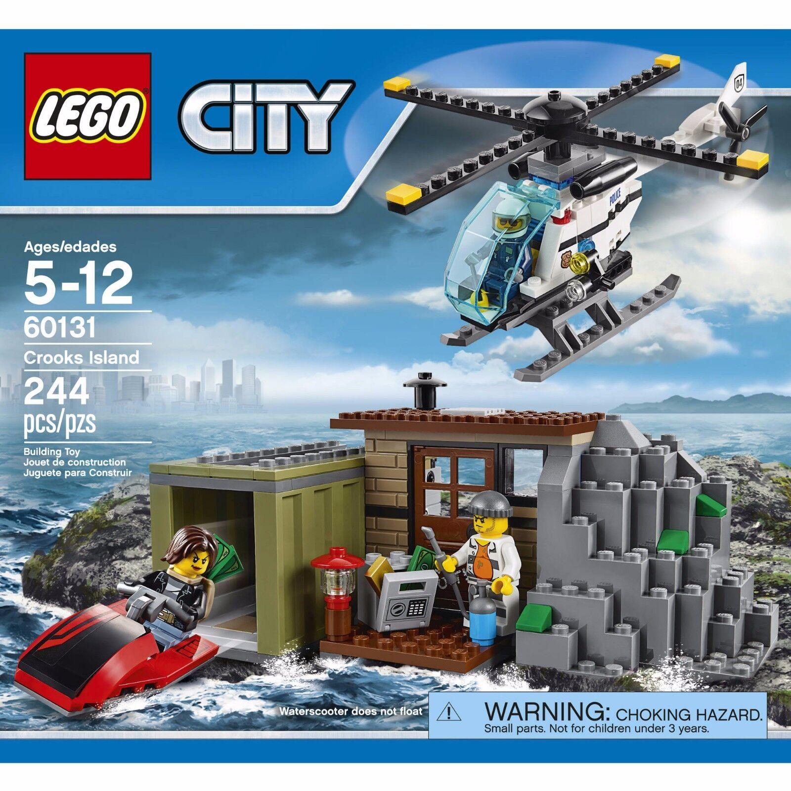 LEGO City Crooks Island Set