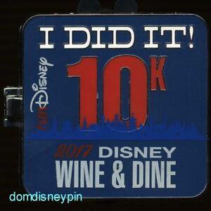 Disney-Pin-WDW-runDisney-Wine-amp-Dine-10K-2017-I-Did-It-Mickey-amp-Minnie