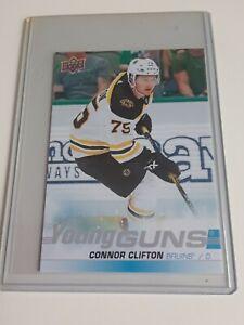 2019-20-Upper-Deck-Connor-Clifton-Young-Guns-Oversize-Jumbo-243-Bruins-YG-L-K