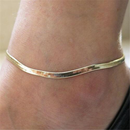 1 Pc Women Fine Fashion Chain Ankle Bracelet Anklet Foot Jewelry Beach Jewelr SE
