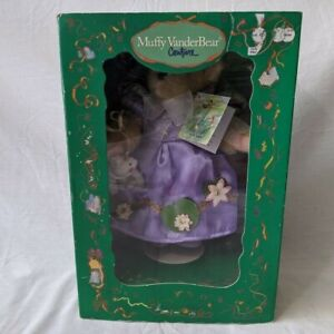 NABCO-MUFFY-VANDERBEAR-Princess-Mufffy-and-the-Polliwog-2003-With-Tags