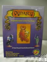 Dynasty Card & Board Game, 2 To 6 Players Ages 8 To Adult; G2r Sealed