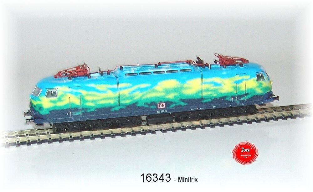 Trix 16343 E-Lok BR 103.1 delle DB AG con decodificatore digitale + Sound funzioni  neu
