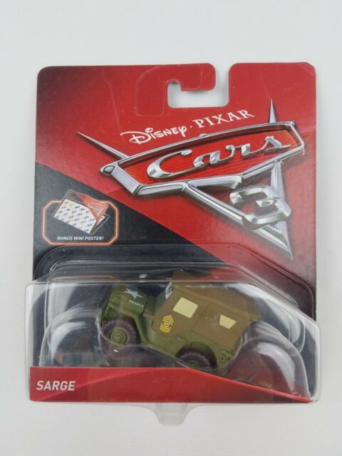 Cars 3 Sarge Disney Pixar Diecast car