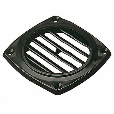 "Sea Dog 337426-1 Molded ABS Flush Vent Black 4-15/16""X4-15/16"""