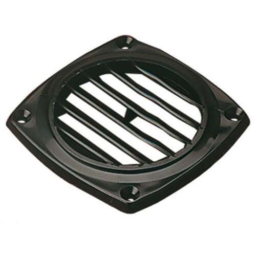 "Sea Dog 337426-1 Molded ABS Flush Vent Black 4-15//16/""X4-15//16/"""