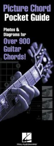 Picture Chord Pocket Guide   Photos And Diagrams For Over