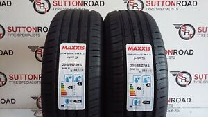 2-X-205-55-16-MAXXIS-PREMITRA-HP5-20555R16-94W-XL-TYRES-A-RATED-WET-GRIP