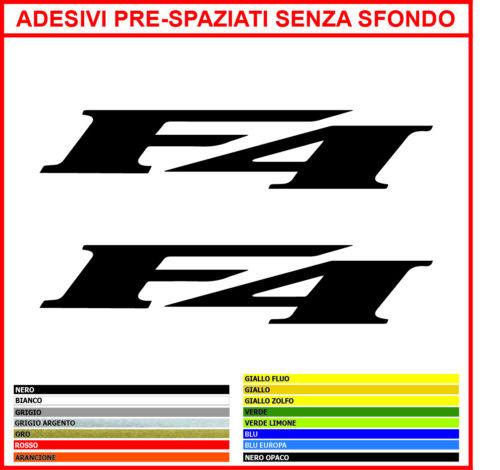 Kit 2 Klebstoffe Mv Agusta F4 mm.100x20 Aufkleber Klebstoffe Decals Pegatinas