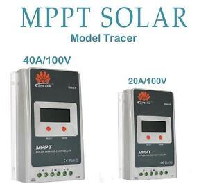 Regulator-der-Solar-Ladung-MPPT-20A-40A-12-24V-100Voc-Ep-Solar-Tracer-a-Anzeige