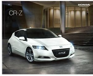 Image Is Loading Honda Cr Z Hybrid 2010 11 Uk Market