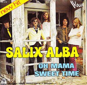 SALIX-ALBA-Oh-Mama-VOGUE-RECORDS-RARE-Belgian-Pop-Rock-1973
