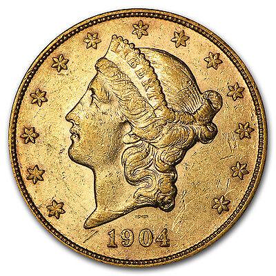 $20 Liberty Gold Double Eagle XF (Random Year) - SKU #116