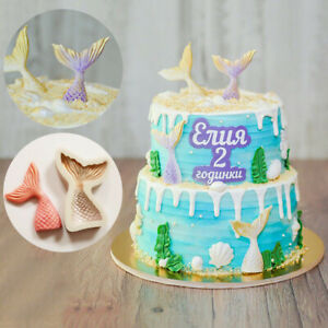 3D-Mermaid-Tail-Silicone-Mould-S-L-Mold-Scale-Fondant-Cake-Sugar-Chocolate-Decor