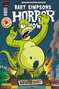 Bart-SIMPSONS-Horror-Show-20-VARIANT-COVER-limitiert-888-Ex-COMIC-ACTION-2016