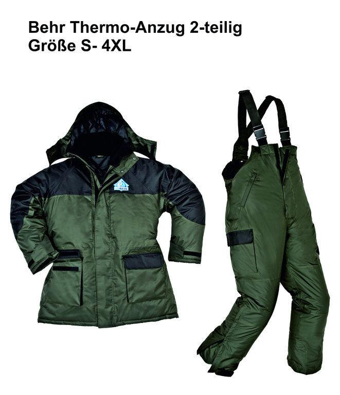 Icebehr Thermal Suit 2-TEILIGER kälteanzug by Behr Size S 4XL Winter Suit