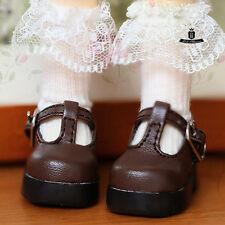 Yosd Shoes 1/6 BJD Shoes Dollfie DOD AOD Luts Dollmore Tiny Student Shoes 0328