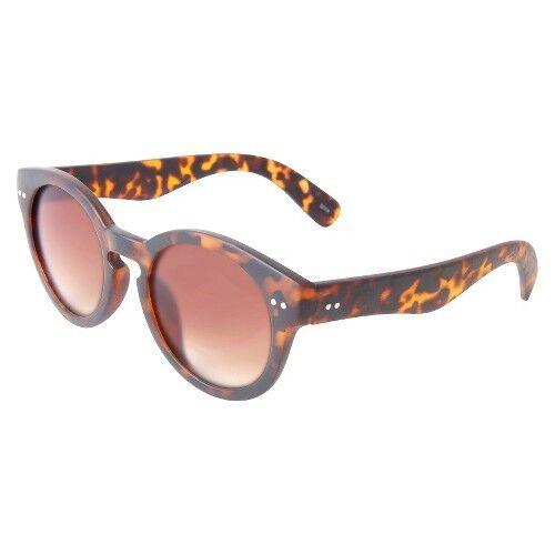 Women's Round Tortoise Sunglasses - Brown