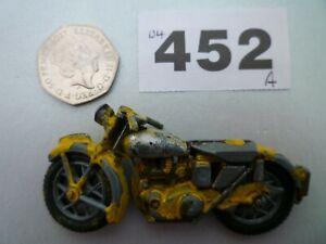 Morestone / Benbros Yellow AA Motorcycle Vintage Original Model - No Box
