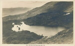 WHITE-MOUNTAINS-NH-The-Lakes-Of-The-Clouds-Real-Photo-Postcard-rppc