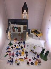 3 Sets Playmobil Models 4296, 4308, 4307 Church Wedding, Wedding Car, Wed. Party