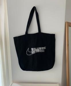 nueva productos calientes disfruta de precio barato colección de descuento Off White X Nike Tote Bag Black Virgil Abloh London Supreme ...