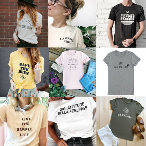 Protect Environment T-Shirt Outdoor Sports Tee Save The Bees Tops Shirts Present