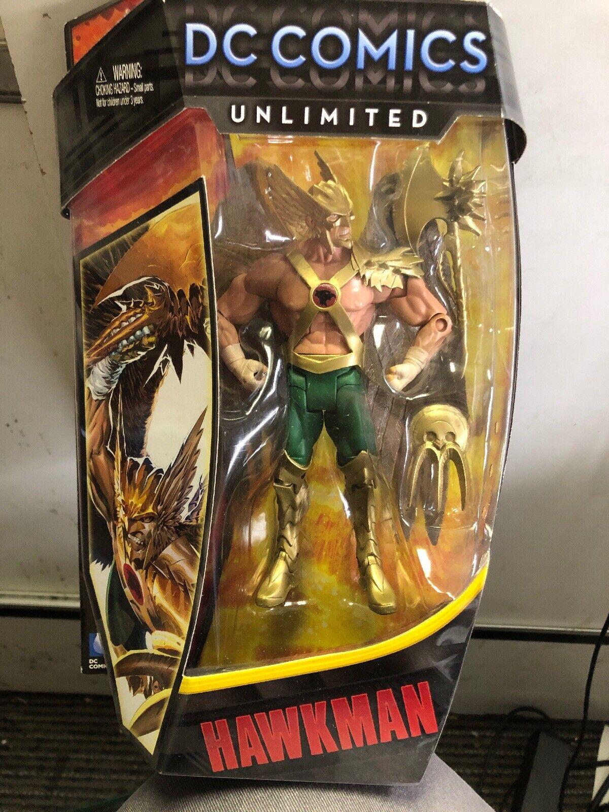 Dc Comics Ilimitado Hawkman Coleccionista Figura Juguete Mattel Nuevo