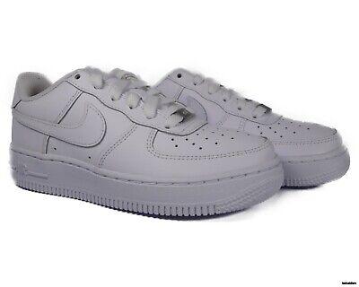 314192 117 Nike Air Force 1 Low White (GS) Youth Grade School Sneaker Size 4 | eBay