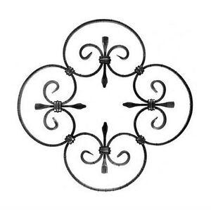 Rosone decorazione in ferro battuto x recinzione ringhiere for Decorazioni in ferro battuto