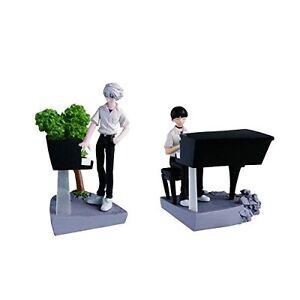 Evangelion Mini size Figures Shinji Ikari /& Kaworu Nagisa Playing the Piano New