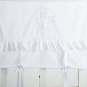 Mathilde-weiss-bestickt-Raffgardine-Raffrollo-Gardine-140x120cm-Shabby-Chic