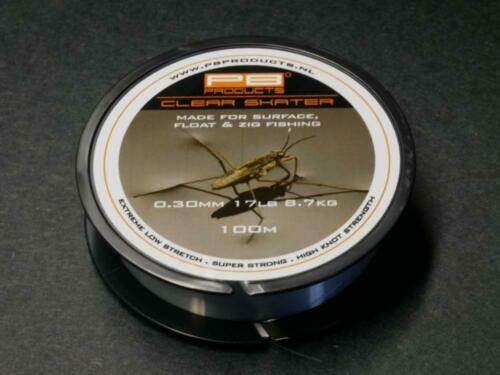 PB Products Clear Skater Zig Line ALL SIZES
